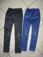 blanchi aux genoux 2 euros piece (le bleu est en 9 ans)