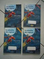 8 euros par cahier d'exercices