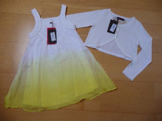 robe bain de soleil jaune tie and dye cardigan blanc. Black Bedroom Furniture Sets. Home Design Ideas