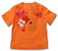 Tee-shirt Catimini 3 ans Field of Flowers neuf