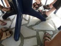 des pieds .... ?????