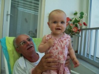 Clara et papi