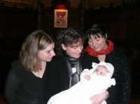 Baptème de Clara 30/12/2007