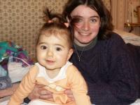 Avec ma marraine Lili