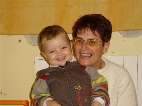 Avec Mamie
