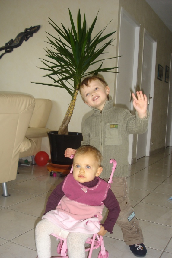 Théo et Clara Janv. 09
