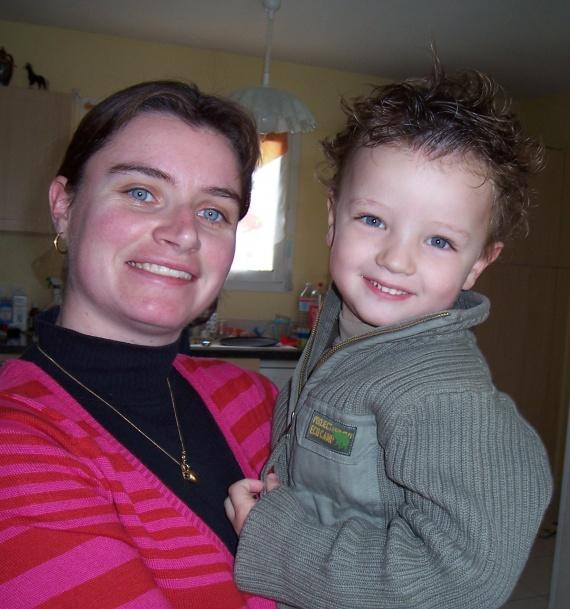 Maman et Théo dec 08