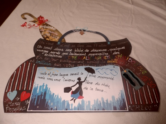 carte baby shower mary poppins