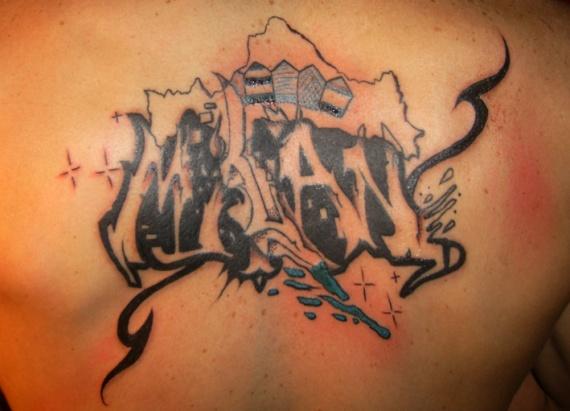 Tags : tatouage , lettrage , tag