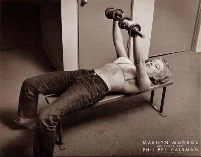 FFPOFP97~Marilyn-Monroe-Hollywood-1952-Affiches