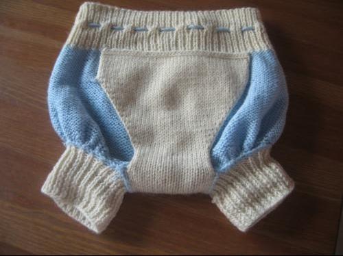 Culotte laine envers