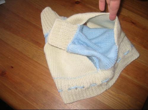 Culotte laine doublure
