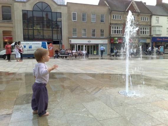 les fontaines de peterborough