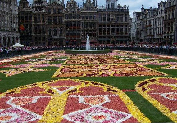 tapis de fleurs 2010