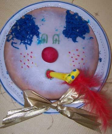 gateau clown