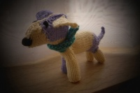chien tricot 1