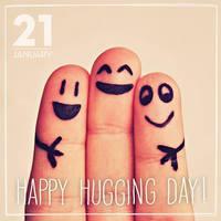 hugging day