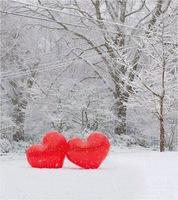 coeur neige