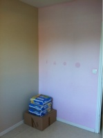 chambre de lola avant la mise en peinture
