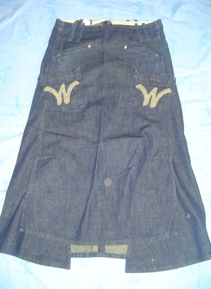 Nanou29 » photos » vêtements pour femmes » jupe en jean le temps