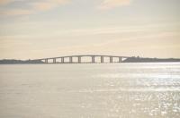 Pont de Noirmoutier vue du Passage du Gois