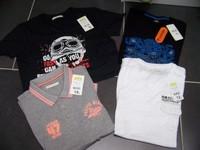 neuf taille S a vendre 8e les tee shirt et 10e le polo  (prix ferme meme si lot)