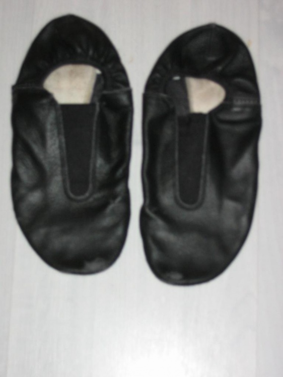 36 chaussons domyos cuir noir modern jazz bien port 233 2 danse 233 quitation clannatib photos