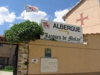 Albergue Jacques de Molay at Terradillos de Templarios