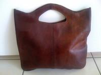 sac en cuir artisanat marocain 10€