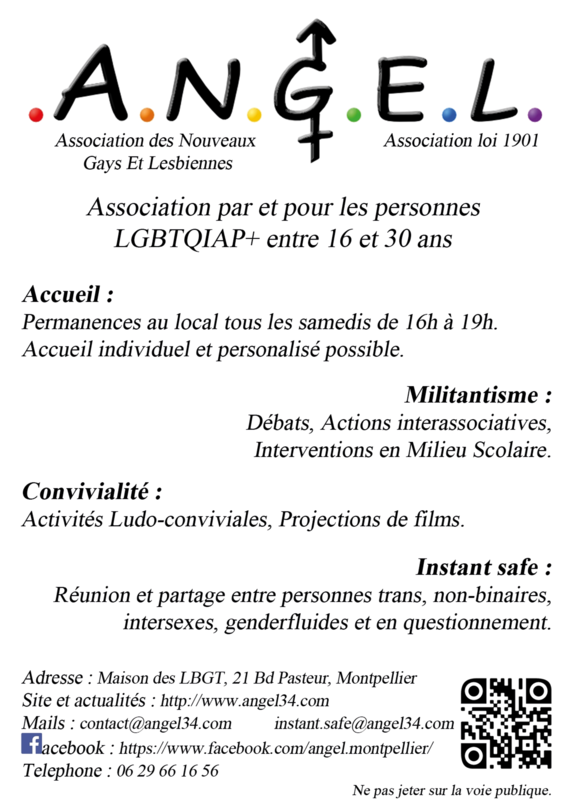 Angel Montpellier flyer