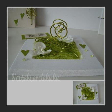 porte alliance vert et blanc #3