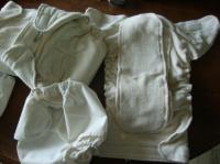 couches lavables popolini, trés peu utilisées+culottes