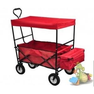 chariot a main de transport pliable pare soleil couture. Black Bedroom Furniture Sets. Home Design Ideas