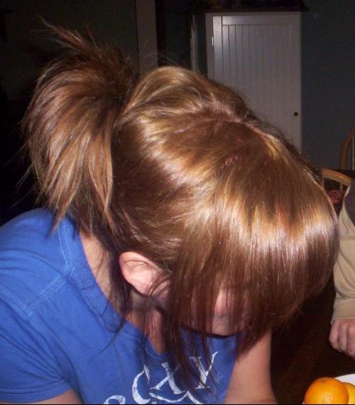 Gommage couleur cheveux coiffeur