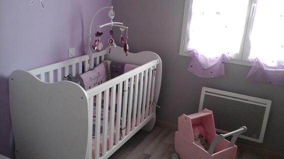 chambre de ma fille thème papillons et sauthon mam'zelle bou ...