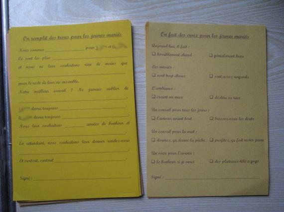 D corer l 39 int rieur d 39 un livre d 39 or mariage forum vie pratique - Mot livre d or mariage ...