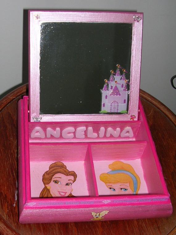 boite à bijoux princesse