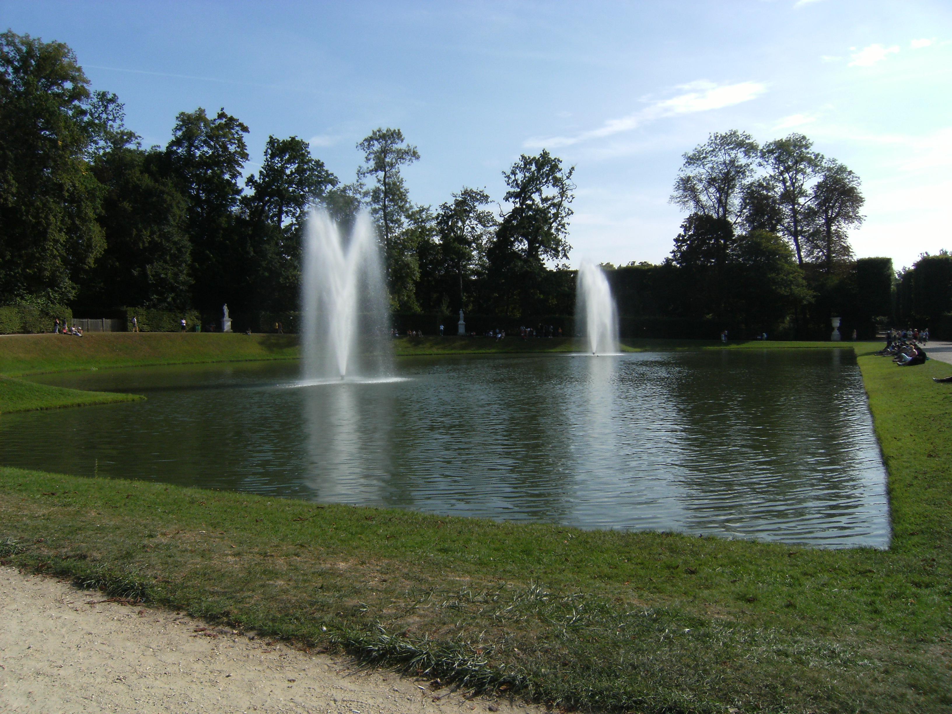 bassin du miroir ch teau de versailles nicabou