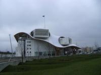 Vue du Centre Pompidou à METZ