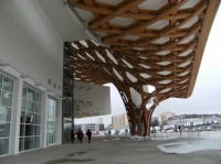 Aperçu de l'architecture du Centre Pompidou