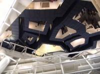 Vue sur le plafond