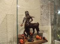 La centauresse réalisée en chocolat