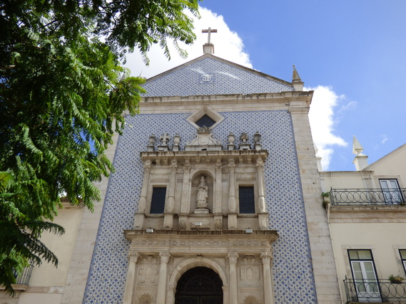 Azulejos - façade d'église