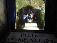 Statue de la Vierge réalisée à Nazareth