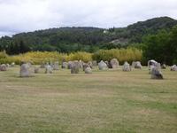 Blocs de granit gravés