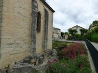 Fondations du chevet Cathédrale de Vaison la Romaine