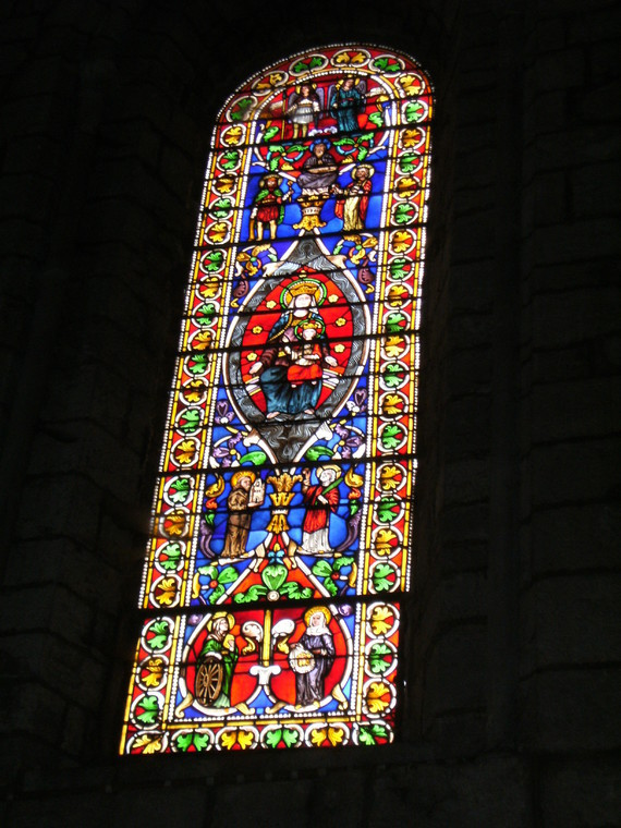 Basilique St Sauveur ROCAMADOUR