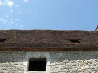 Toit du Moulin de Cougnaguet