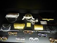 Sacs et lunettes portés par DALIDA