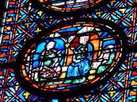 Détail vitrail